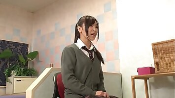 Hot Petite Japanese Teen In Uniform Fucked During Interview - Part 3 / 5