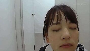 Hot Japanese Schoolgirl Gets Massive Bukkake On Face In Classroom Part 2