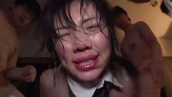 Nasty Japanese Babe Gets DeepThroat, Maltreatment & Seem like Gangbang Sex - Part 3 ⁄ 3