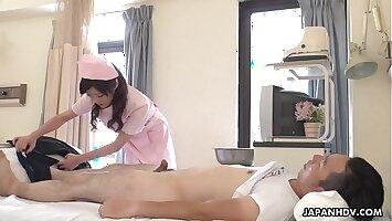 Japanese nurse, Sara Yurikawa was naughty, uncensored