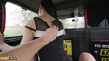 Fake Taxi Stunning Asian With Long Legs Fucks Her Cab Driver